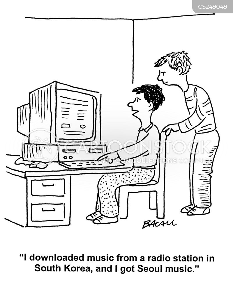 illegal downloading cartoon