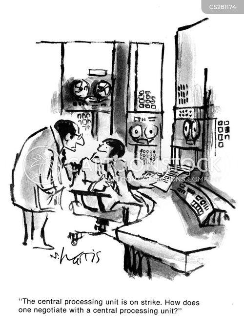 central processing units cartoon