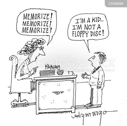 memorise cartoon