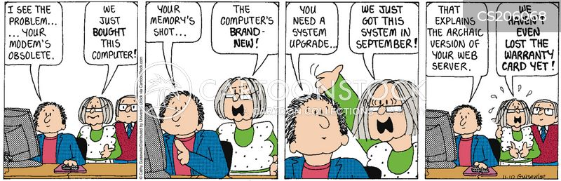 computer age cartoon