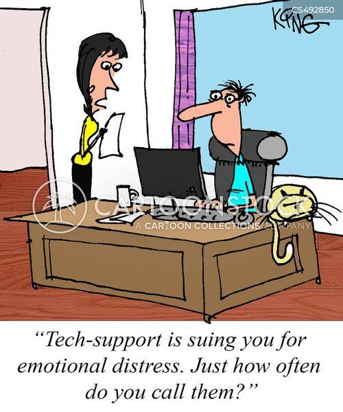 emotional problem cartoon