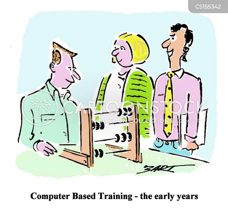 computer training cartoons and comics funny pictures