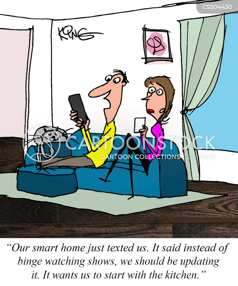 smarthome cartoon