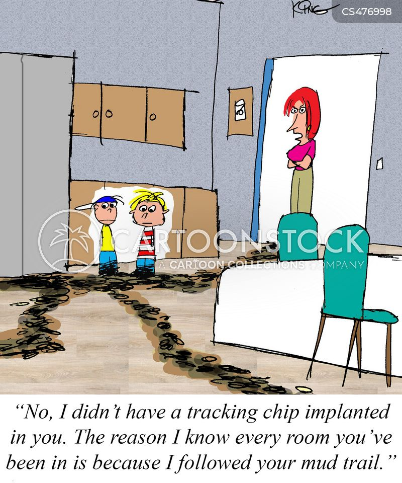 Gps Tracker Cartoons and Comics - funny pictures from CartoonStock