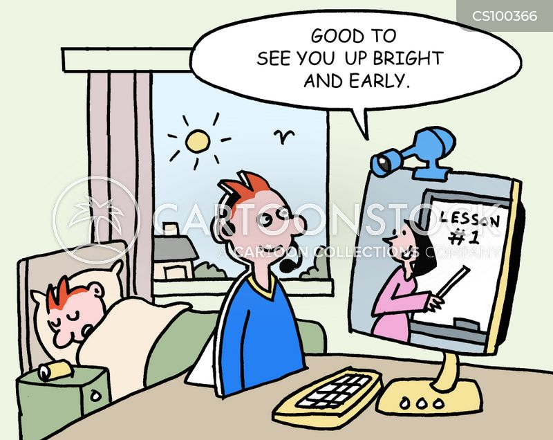 telecommuters cartoon