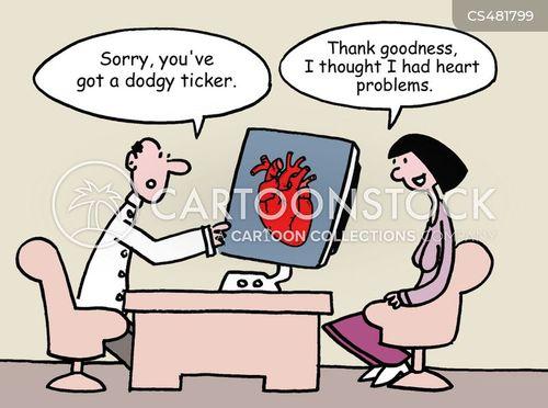 ticker cartoon