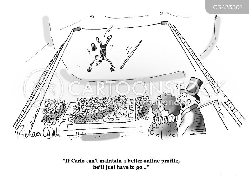 High-wire Cartoons and Comics - funny pictures from CartoonStock on