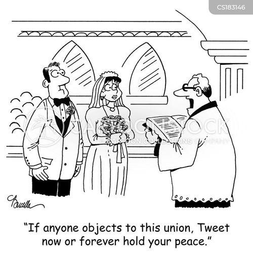 matrimony cartoon
