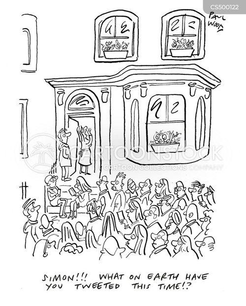 mob justice cartoon