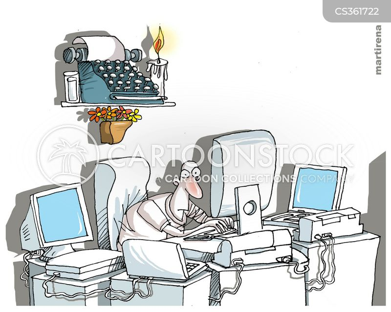 Type Writer Cartoons And Comics Funny Pictures From