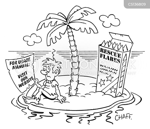 instruction guide cartoon