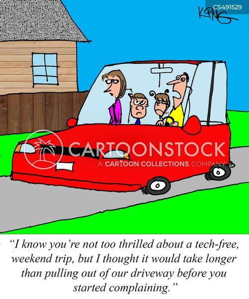 digital childhood cartoon