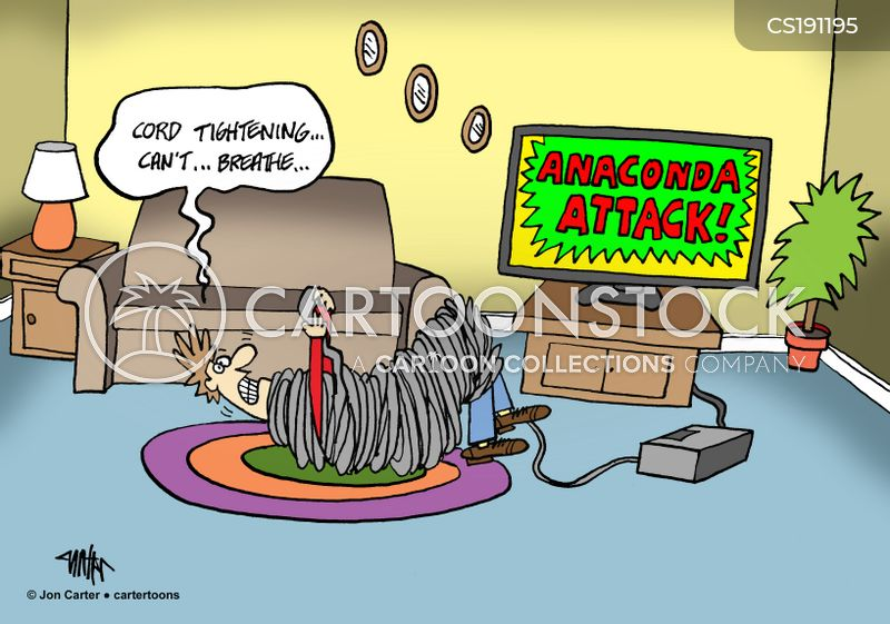 anaconda cartoon