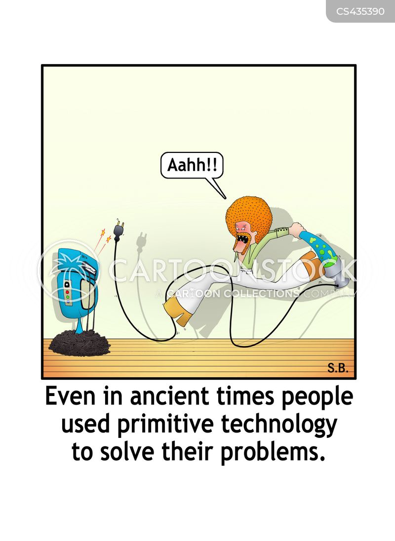 historical periods cartoon