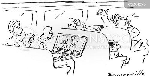 voo doo cartoon