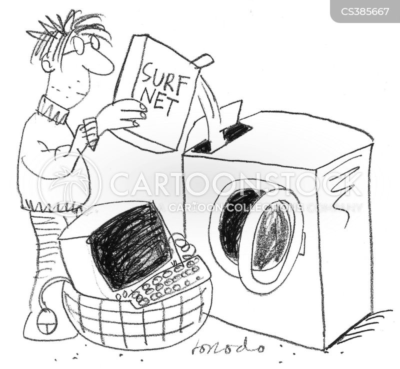 washing powder cartoon