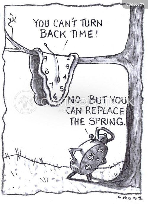 time-pieces cartoon