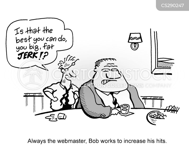 webmasters cartoon