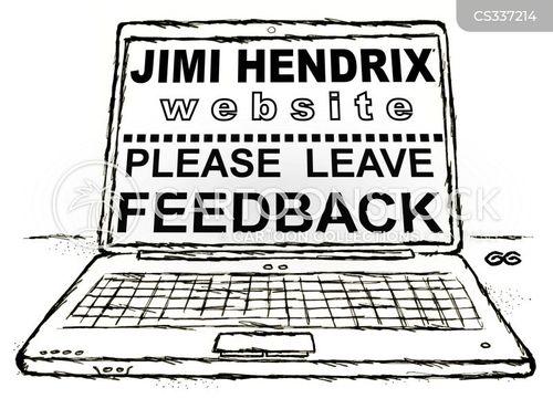 hendrix cartoon