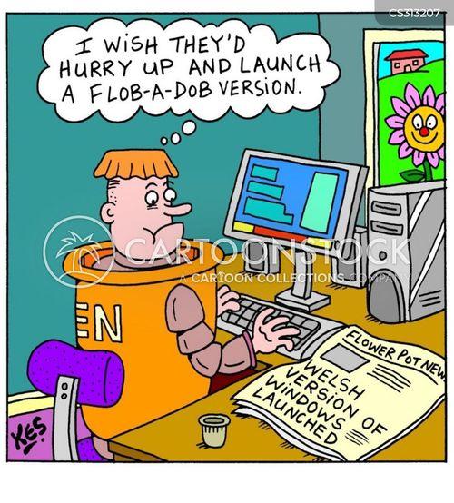 localise cartoon