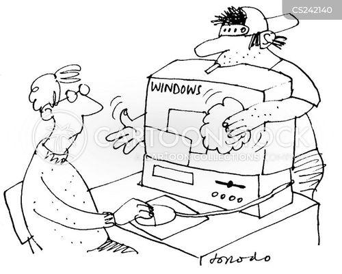 microsoft cartoon