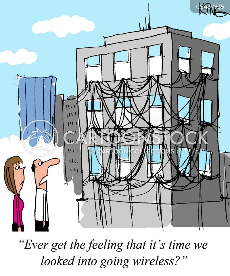 electrical wire cartoon