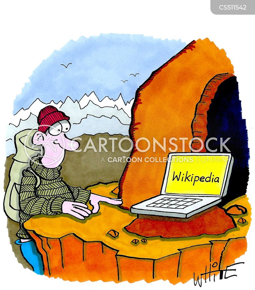 wiki cartoon