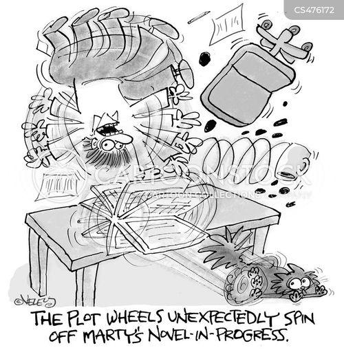 plot device cartoon