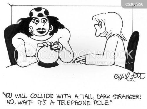 tall dark stranger cartoon