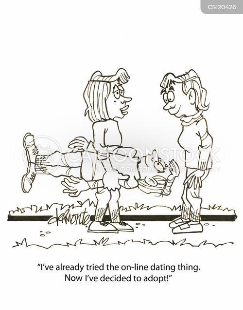 finding love cartoon