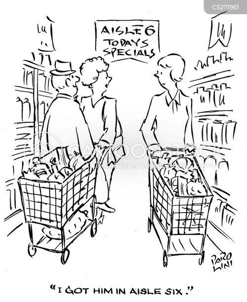 hypermarkets cartoon