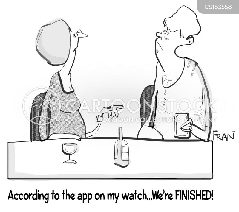 smart watch cartoon
