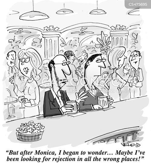 singles markets cartoon