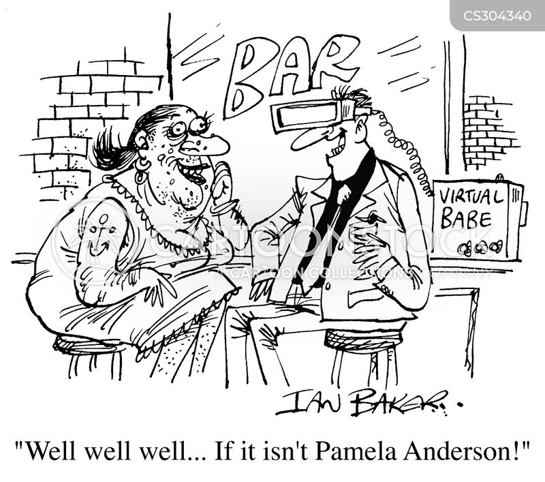pamela anderson cartoon