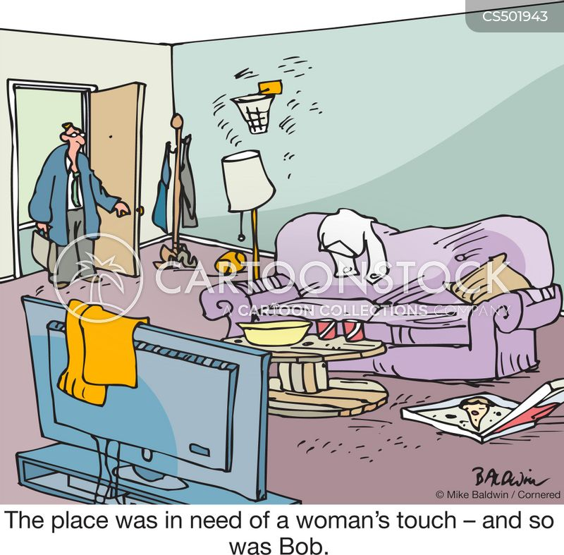 living conditions cartoon