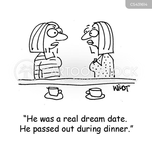 dream dates cartoon