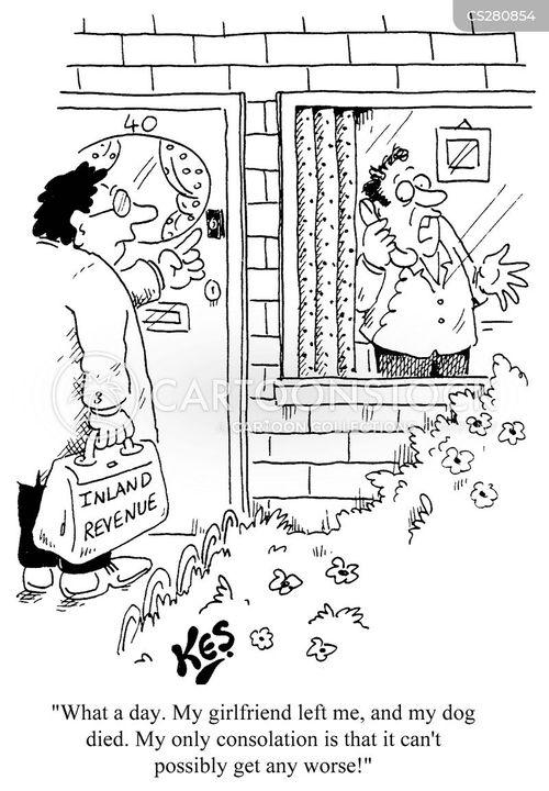 bereavements cartoon