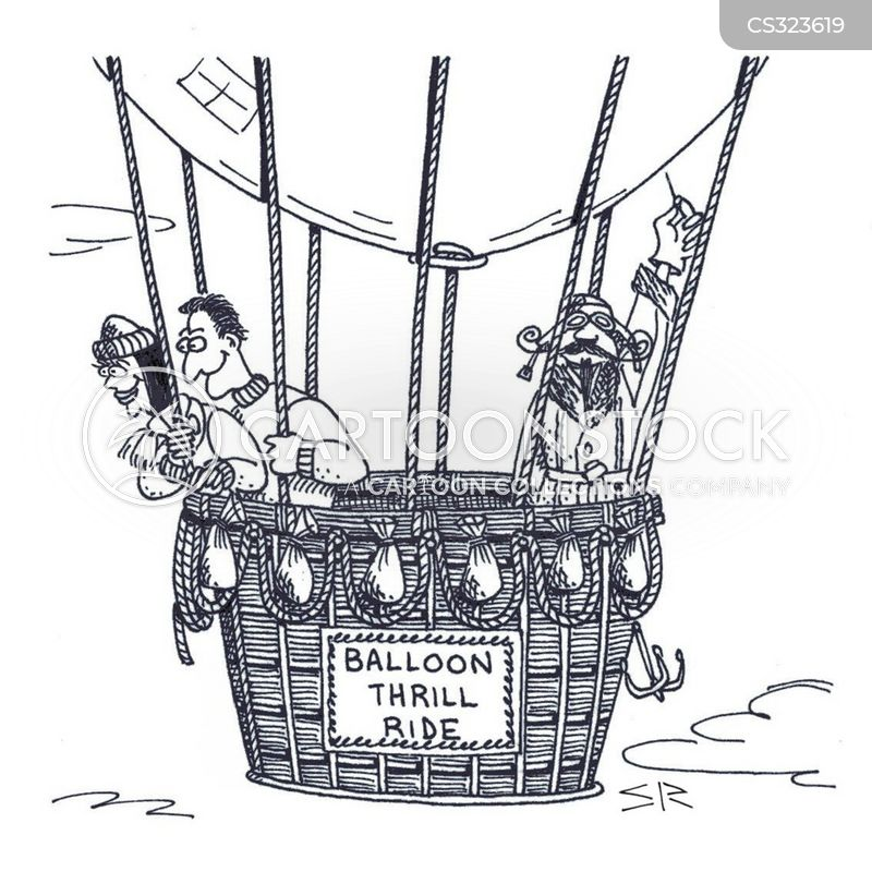 thrill ride cartoon