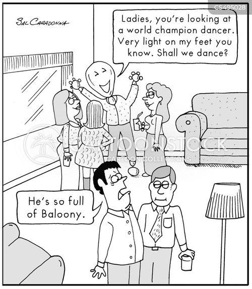 baloony cartoon