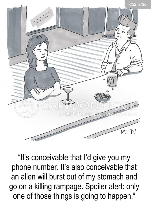 evasive cartoon