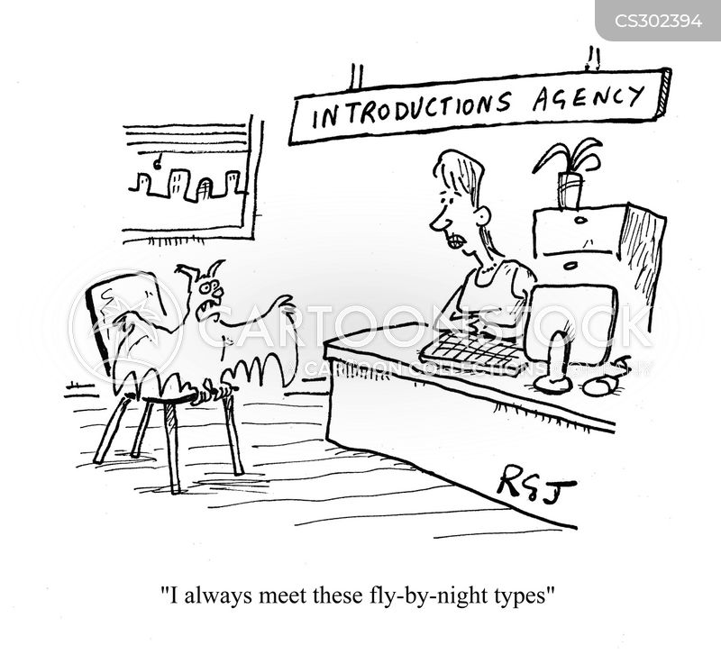 introduction agency cartoon