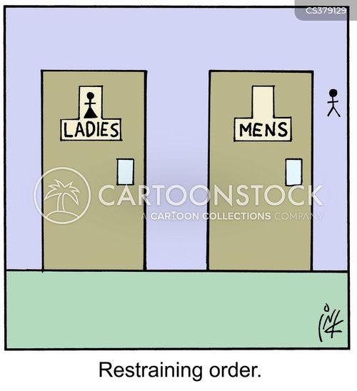 Restraining Order Cartoons And Comics