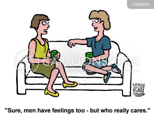 sensitiveness cartoon