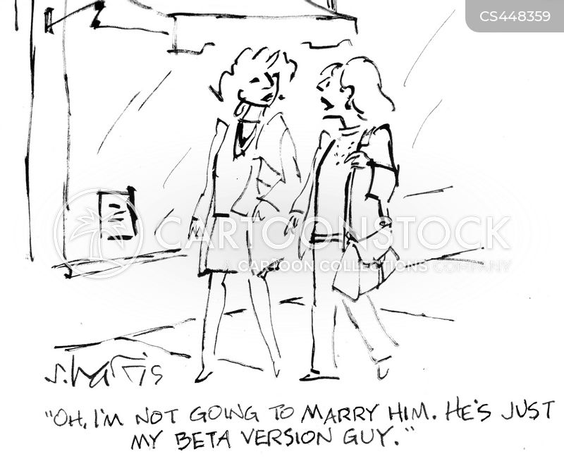 short-term relationships cartoon