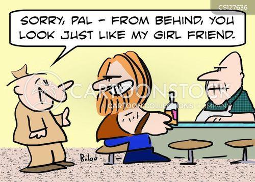fighting talk cartoon