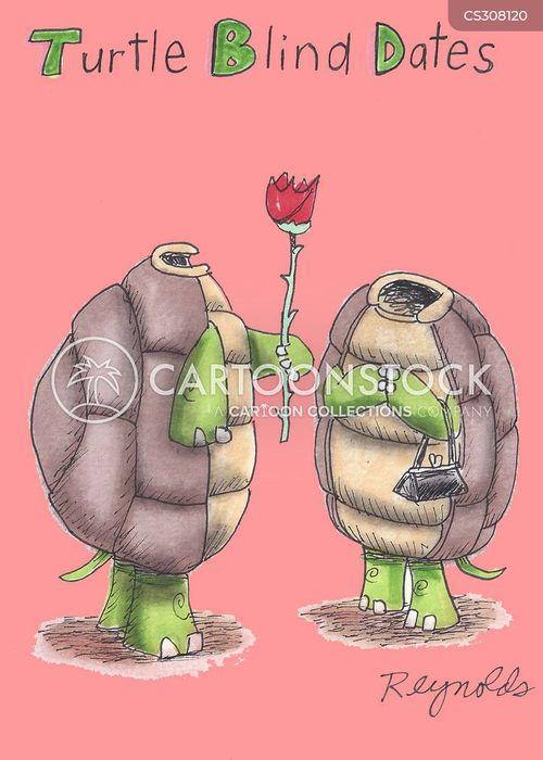 romantically cartoon