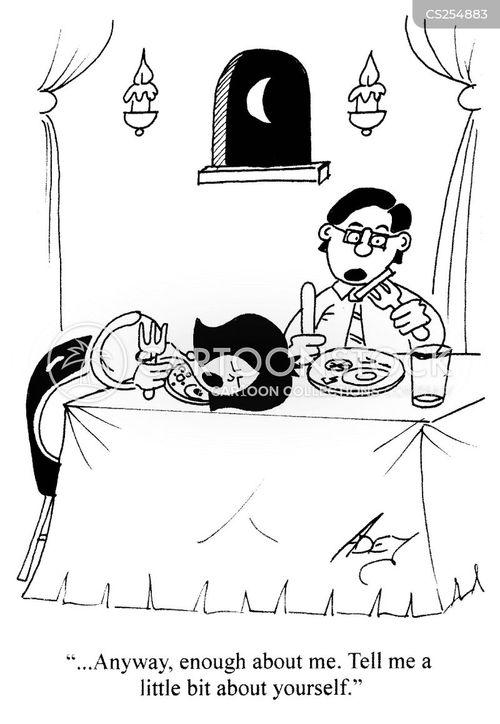 self involved cartoon