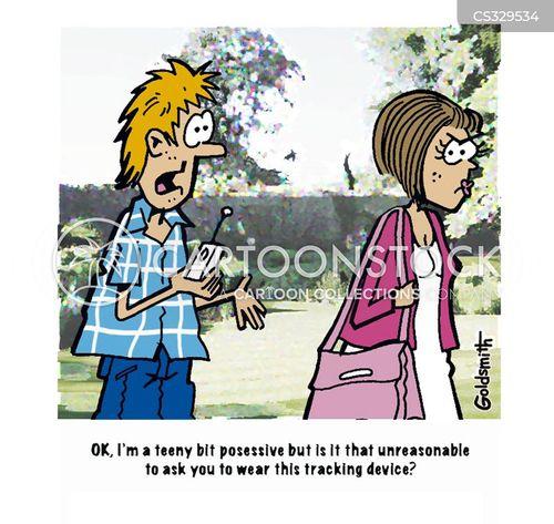 tracking device cartoon