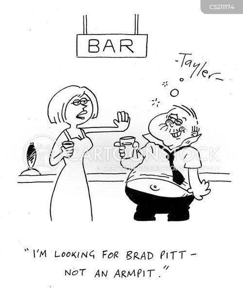 brad pitt cartoon