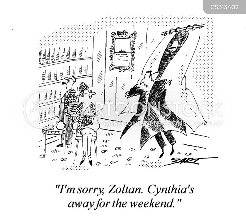 weekend break cartoon